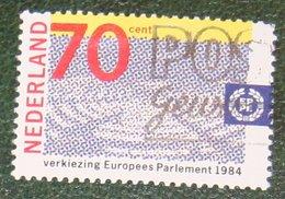 Verkiezing Europees Parlement EU EEG NVPH 1300 (Mi 1245); 1984 Gestempeld / USED NEDERLAND / NIEDERLANDE