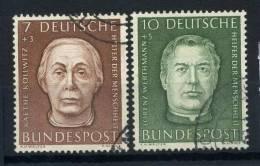 #17-02-05130 - Federal Republic - 1954 - Sass. 200-201 - US - QUALITY:100% - WOHLFAHRT