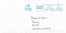 EMA HU 692089 Carcassonne PPDC Aude + Flamme Chambre Agriculture Et Territoires Aude 11
