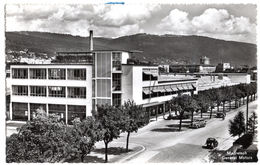 Switzerland Bern Madretsch Biel/Bienne General Motors Car Factory Real Photo 1952 - BE Bern