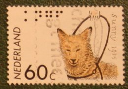 Blinde Geleide Hond Dog Chien Hund NVPH 1321 (Mi 1263); 1985 Gestempeld / USED NEDERLAND / NIEDERLANDE