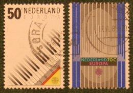Europa CEPT Zegels Europe NVPH 1333-1334 (Mi 1274-1275); 1985 Gestempeld / USED NEDERLAND / NIEDERLANDE