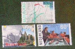 Amsterdam NVPH 1335-1337 (Mi 1276-1278); 1985 Gestempeld / USED NEDERLAND / NIEDERLANDE