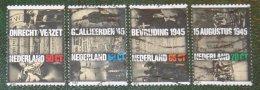 Verzet En Bevrijding WWII NVPH 1329-1332 (Mi 1270-1273); 1985  Gestempeld / USED NEDERLAND / NIEDERLANDE