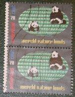 Werelnatuurfonds WNF WWF PANDA NVPH 1314 (Mi 1257); 1984 Gestempeld / USED NEDERLAND / NIEDERLANDE