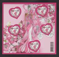 FRANCE / 2009 / Y&T BF N° 127 ** (Bloc Coeurs Ungaro) - Gomme D´origine Intacte