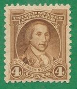 United States - 1932 - George Washington  - Scott #709 - MNH