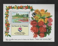 FRANCE / 1994 / Y&T N° 2909/2910 Bloc BF N° 16  (Salon Du Timbre : Parc Floral) - Oblitération FDC 15/10/1994. SUPERBE !