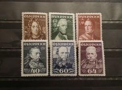Austria, 1935, Mi: 617/22  (MNH)
