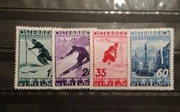 Austria, 1936, Mi: 623/26 (MNH)