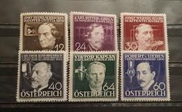 Austria, 1936, Mi: 632/37 (MNH)