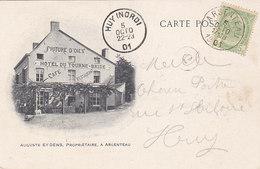 Argenteau - Hôtel Du Tourne-Bride Café Restaurant, 1901, Double Face, Vers Huy - Liège