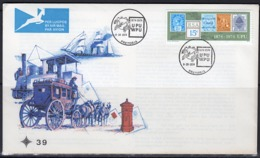 South Africa 1974, 100th UPU, Stamp On Stamp, Carriage, FDC