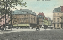 GENT - GAND : Rue De Flandre - RARE VARIANTE COLORISEE - Cachet De La Poste 1912 - Gent