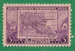 United States - 1936 - Oregon Territory - Scott #783 - MNH