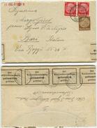 GERMANIA TERZO REICH - 1939 Da Ettlingen (Baden) A Bari - CENSURA - Con Contenuto - Covers & Documents