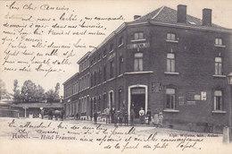Aubel - Hôtel Franssen (Top Animation, Café Restaurant Dentiste Attelage, Edit A. Willems, 1905) - Aubel