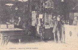 Aywaille - Salle Du Café Du Museum (animée, Précurseur, 1905)