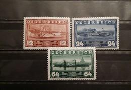 Austria, 1937, Mi: 639/41 (MNH)