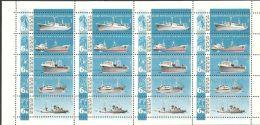 Russia / Soviet Union 1967 Mi# 3326-3330 ** MNH - Se-tenant Sheet Of 20 - Soviet Fishing Industry