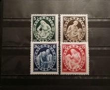Austria, 1937, Mi: 642/45 (MNH)