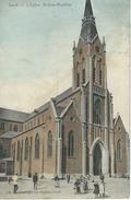 GENT - GAND : L'Eglise St-Jean-Baptiste - RARE VARIANTE COLORISEE - Gent