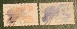 Waddenzee Birds, Vogels, Oiseaux, Pajaros NVPH 1268-1269 (Mi 1209-1210) 1982 Gestempeld / USED NEDERLAND / NIEDERLANDE