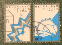 Europa Cept Zegels NVPH 1271-1272 (Mi 1219-1220) 1982 Gestempeld / USED NEDERLAND / NIEDERLANDE