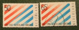 200 Jaar Nederland USA NVPH 1266-1267 (Mi 1207-1208); 1982 Gestempeld / USED NEDERLAND / NIEDERLANDE