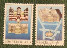 Paleis Op De Dam NVPH 1273-1274 (Mi 1221-1222); 1982 Gestempeld / USED NEDERLAND / NIEDERLANDE