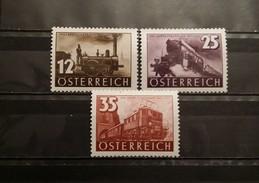 Austria, 1937, Mi: 646/48 (MNH)