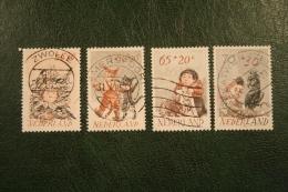 Kinderzegels, Child Welfare Kinder Enfant NVPH 1275-1278 (Mi 1223-1226); 1982 Gestempeld / USED NEDERLAND / NIEDERLANDE