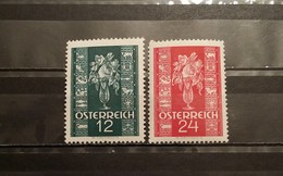 Austria, 1937, Mi: 658/59 (MNH)
