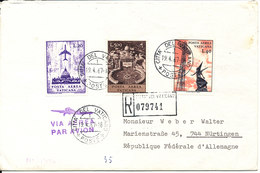 Vatican Registered Cover Sent To Germany 19-4-1967 - Covers & Documents