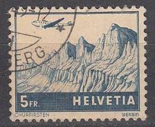 Switzerland 1941 Air Mail, Cancelled, Sc# C34