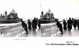 # Nice  - CP Stéréoscopique - La Jetée - Estereoscópicas
