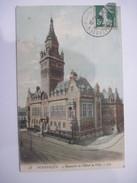 CPA  DUNKERQUE, Ensemble De L'Hôtel De Ville, 1908  T.B.E. Colorisée - Dunkerque