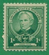 United States - 1940  - Horace Mann - Scott #869 - MNH