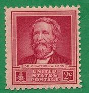 United States - 1940  - Dr. Crawford W. Long - Scott #875 - MNH