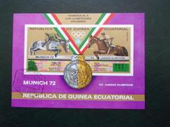 Guinée Equatoriale Cheval Hippisme JO 72 Munich  Jeux Olympique 1972 Horse