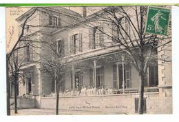 CPA-1910-69-St-GENIS-LAVAL- ASILE PAUL-MICHEL PERRET-SECTION DES FILLES-ANIMEE-TOUTES LES FILLES EN BLANC- - Autres Communes