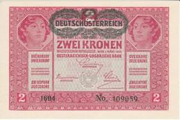 BILLETE DE HUNGRIA DE 2 KORONA DEL AÑO 1917  (BANKNOTE) SIN CIRCULAR-UNCIRCULATED - Austria