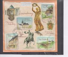 FRANCE : Capitales Européennes - Luxembourg : Cathédrale Notre-Dame, Pont Adolphe, Palais Grand Ducal, Citadelle Saint-E