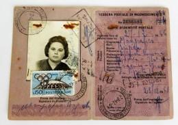 Eba-1 TESSERA POSTALE DI IDENTITA', GIOCHI OLIMPICI, XVII OLIMPIADE, GIOCHI,  ISOLATO,  L.150 - 4. 1944-45 Social Republic