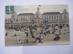 CPA  MALO-les-BAINS Le Casino  1908  T.B.E. Colorisée Tres Animée - Malo Les Bains