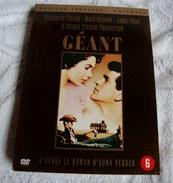 Dvd Zone 2 Géant (1956) 2DVD James Dean Édition Spéciale Collector Giant Vf+Vostfr - Klassiekers