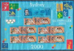 France 2000 Yvert Bloc Feuillet 31A O Cote (2012) 12.00 Euro Jeux Olympiques De Sydney Cachet Rond