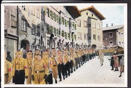 """Sammelbild Propaganda , """" Deutschland Erwacht """" Bild 189 , SA Skimeisterschaft , Farbig"""