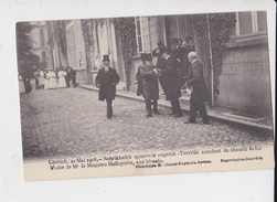KONTICH 2 MAI 1908 ACCIDENT CHEMIN DE FER VISITE DU MINISTRE HELLEPUTTE AUX BLESSES - Kontich