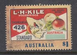 Australia 2016 Nostalgic Fruit Labels - Tasmanian Apple - Sheet Stamp Used